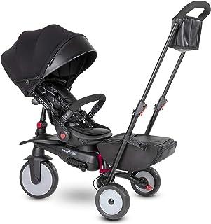 SMARTRIKE- STR7 Urban Triciclo para Niños, Color negro (5501100)