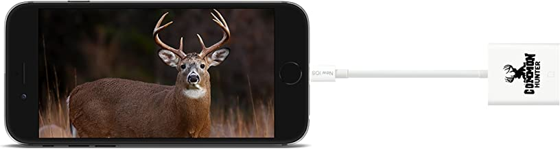 Common Hunter iPhone Trail Camera Viewer/Trail Camera Reader for iPhone 5 and Newer, Trail Camera Viewer for Deer Hunting