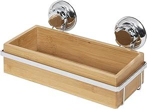 COMPACTOR RAN5807 Multifunctionele plank voor de badkamer, bevestiging dankzij zuignap, voor maximaal 12 kg belasting, bam...