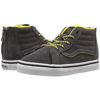 Vans Kids Sk8-Hi Zip (Infant/Toddler) ((MTE) Yellow/Gray) Boys Shoes