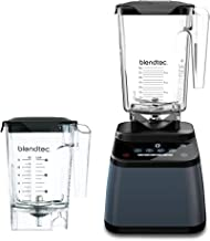 Blendtec Designer 625 Blender (96 oz) and Mini WildSide+ Jar (46 oz) Bundle Commercial-Grade Power, 4 Pre-P...