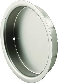 Prime-Line N 7206 Closet Door Finger Pull, 2-Inch, Satin Nickel,(Pack of 2)