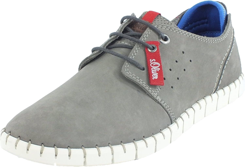 S.Oliver Men's Lace-Up shoes bluee