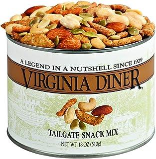 Virginia Diner - Gourmet Natural Tailgate Snack Mix (Salted Virginia Peanuts, Salted Cashews, Cheddar Sesame Sticks, Roast...
