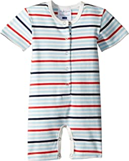 Sweet Stripes Shortie Jumpsuit (Infant)