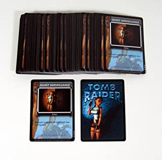 Lot of (100) 2000 Precedence Lara Croft Tomb Raider CCG Promo Card (#221) Nm/Mt