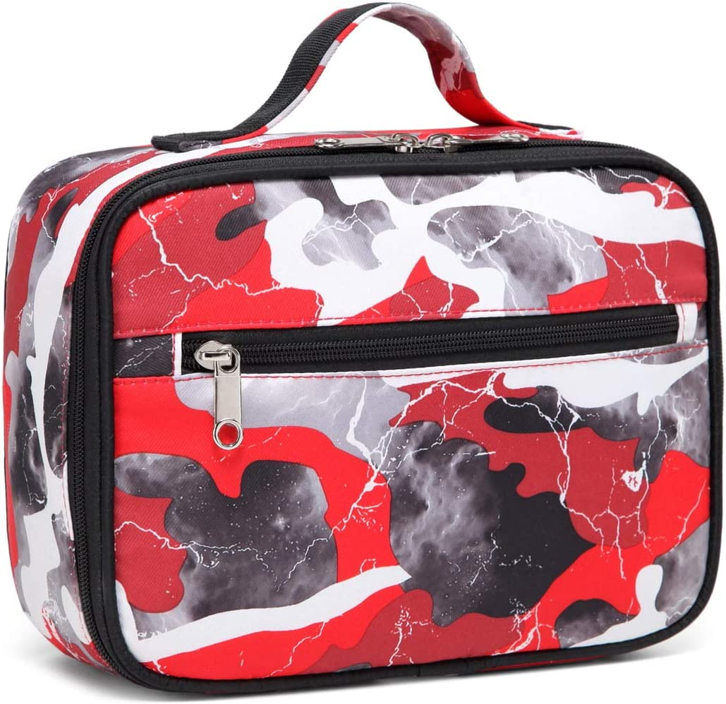 Max 58% OFF BLUEFAIRY Kids Insulated New item Lunch Box Bags Lun Girls Camouflage for