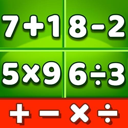 Juegos de matemáticas: Aprende a suma, resta, multiplicación, fracciones, decimales, raíces cuadradas y operaciones mixtas todo en uno