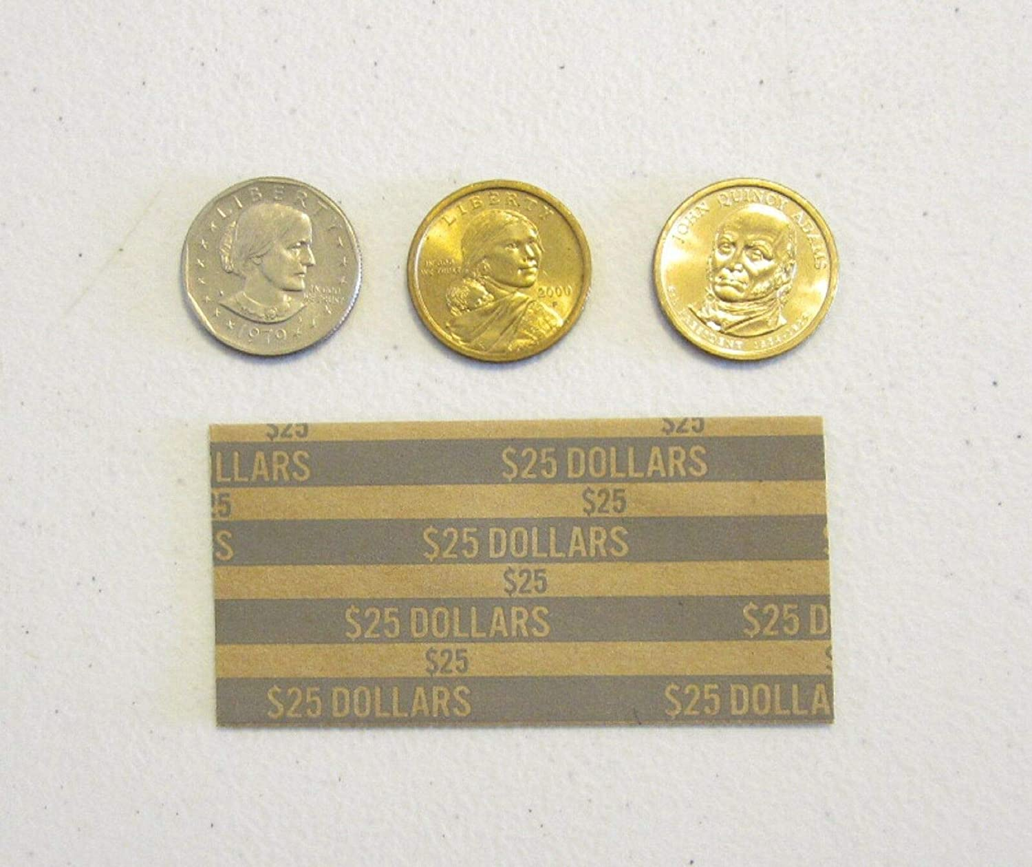 150 Presidential Dollars Coin Large-scale sale List price Wrappers Co Dollar Paper SACAGAWEA