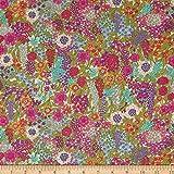 Liberty Fabrics Tana Lawn Ciara Purple,...