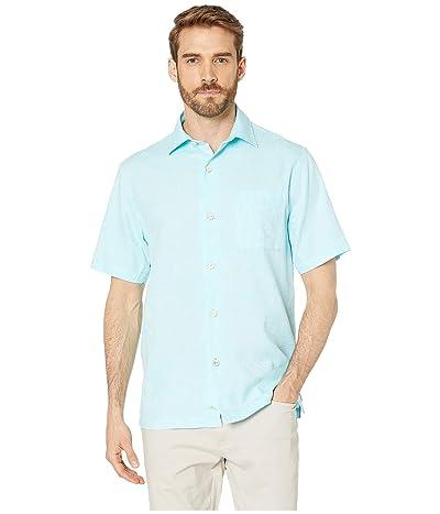 Tommy Bahama Camden Coast Shirt (Sea Sprite Blue) Men