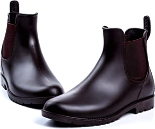 Colorful Life Women's Short Ankle Rain Boots Anti Slip...