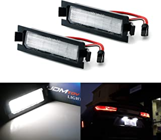iJDMTOY OEM-Fit 3W Full LED License Plate Light Kit For 2012-17 Hyundai Accent & 13-17 Elantra GT Hatchback, Powered by 18-SMD Xenon White LED