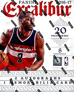 2016/17 Panini Excalibur Basketball Hobby Box