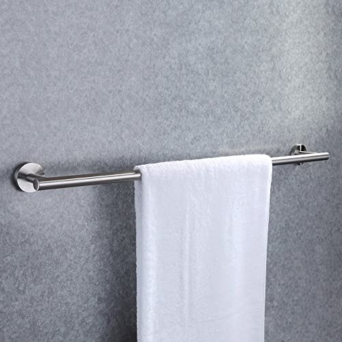 KES Bathroom Towel Bar 28 Inches Bath Towel Rack for Bathroom Towel Holder No Drill SUS304 Stainless Steel Brushed Fi...
