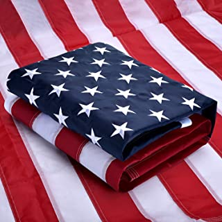 VORENUS American Flag 3x5 Ft Heavy Duty, American Flag 3x5 Outdoor, US Flag with Vivid Color, Sewn Stripes, Brass Grommets, Embroidered Stars