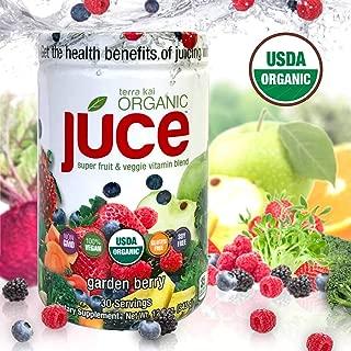 Terra Kai Organics Juce Super Fruit & Veggie Vitamin Blend, 12.2 Ounces