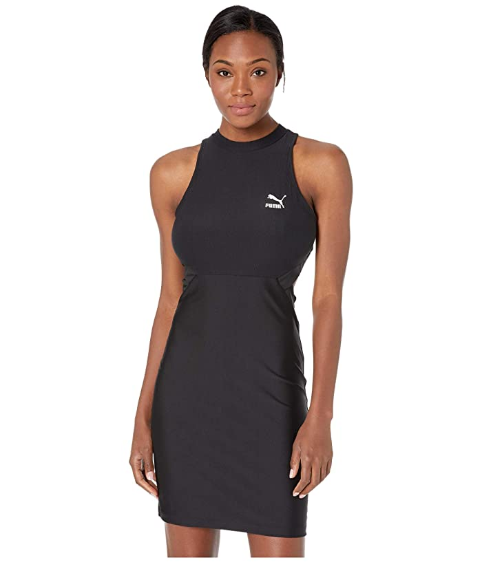 PUMA Classics Cut Out Dress (PUMA Black) Women