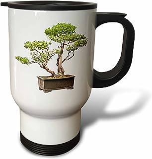"""3dRose tm_13927_1"""" Penjing Bonsai"""" Travel Mug, 14 oz, Multicolor"""