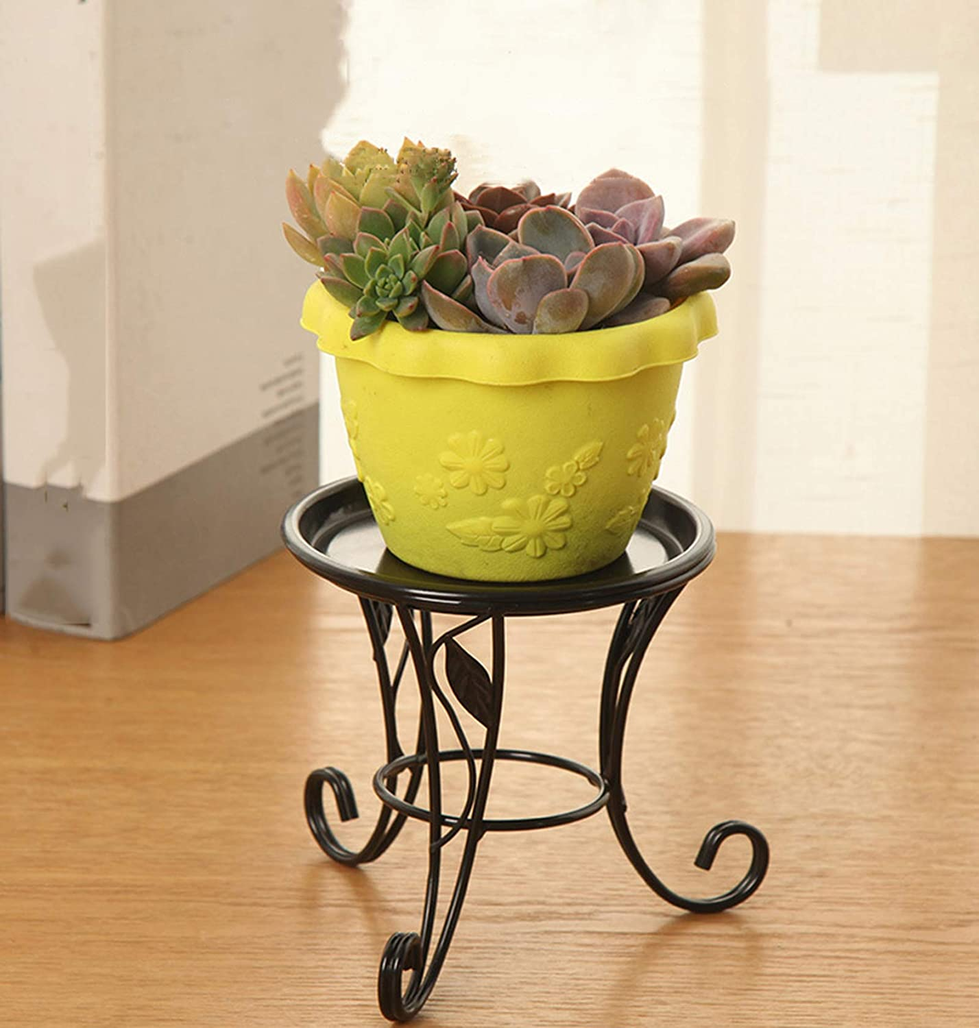 LYYJF Potted Plant Stand Holder Metal Max 43% OFF Flower Rack Display Max 60% OFF