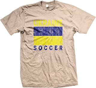Ukraine Soccer, Ukrainian Flag, Football Men's T-shirt, NOFO Clothing Co.