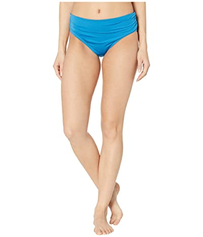 Kenneth Cole Shirred Bikini Bottom (Ocean) Women
