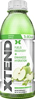XTEND On The Go, Branched Chain Amino Acids, BCAAs, Zero Sugar Hydration & Muscle Recovery Drink with Electrolytes, Smash ...