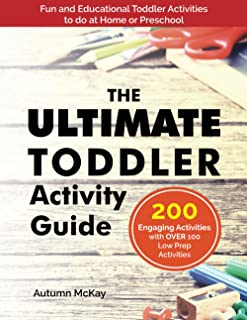 The Ultimate Toddler Activity Guide: Fun & educational activities to do with your toddler