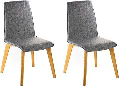 Marque à Rivet de salle Lot Amazon Ricky chaises de 2 8XwNn0kOP