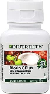 Mejor Nutrilite Biotin C Plus de 2020 - Mejor valorados y revisados
