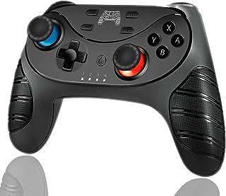 「2020最新 アマゾン通販」 Switch コントローラー MAXKU スイッチ コントローラー ワイヤレス プロコン Bluetooth 6軸ジャイロセンサー搭載 HD振動 TURBO連射機能付き 任天堂 スイッチの全てシステムに対応 任天堂 Nintendo Switch 対応 日本語取扱説明書