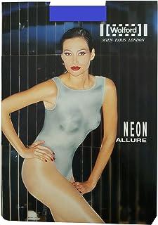 Wolford Neon Allure Body-Suit Body Neonglanz-Material Farbe: Blau Gr. Large D 44-46 Body sitzt sehr figurbetont und setzt die Trägerin durch das Glanz-Material toll in Szene.