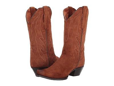 Dan Post Lana (Tobacco Suede) Cowboy Boots