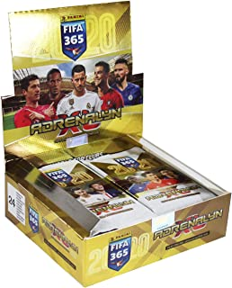 Panini 003192D Adrenalyn XL Trading Cards FIFA 365 2019/2020 Season 24 Display 6 Cards per Booster Multi-Coloured