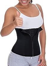 Women Waist Trainer Corset Cincher Zipper Body Shaper for Weight Loss Girdle Top Tummy Underwear Shapewear Workout Shirt