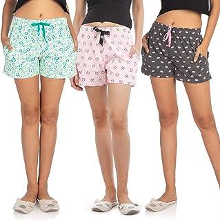 NITE FLITE Women Regular Shorts (Pack of 3)