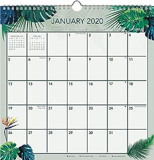 Urban Tropical 2020 Spiral Wall Calendar