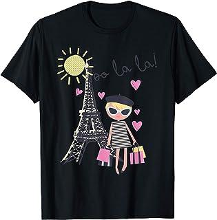 Paris France Tour Eiffel Souvenir Français Vintage Cadeau T-Shirt