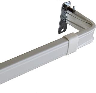 Rod Desyne Lockseam 2-Inch Window Curtain Rod Set, 18 to 28-Inch