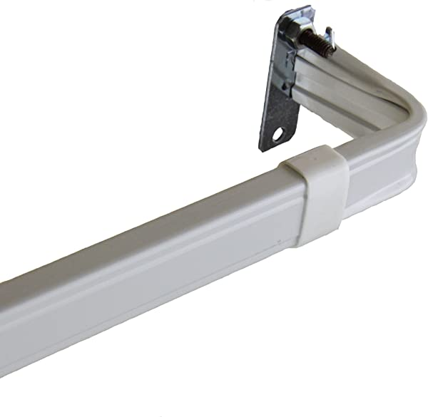 Rod Desyne Lockseam 2 Inch Clearance Window Curtain Rod 28 To 48 Inch