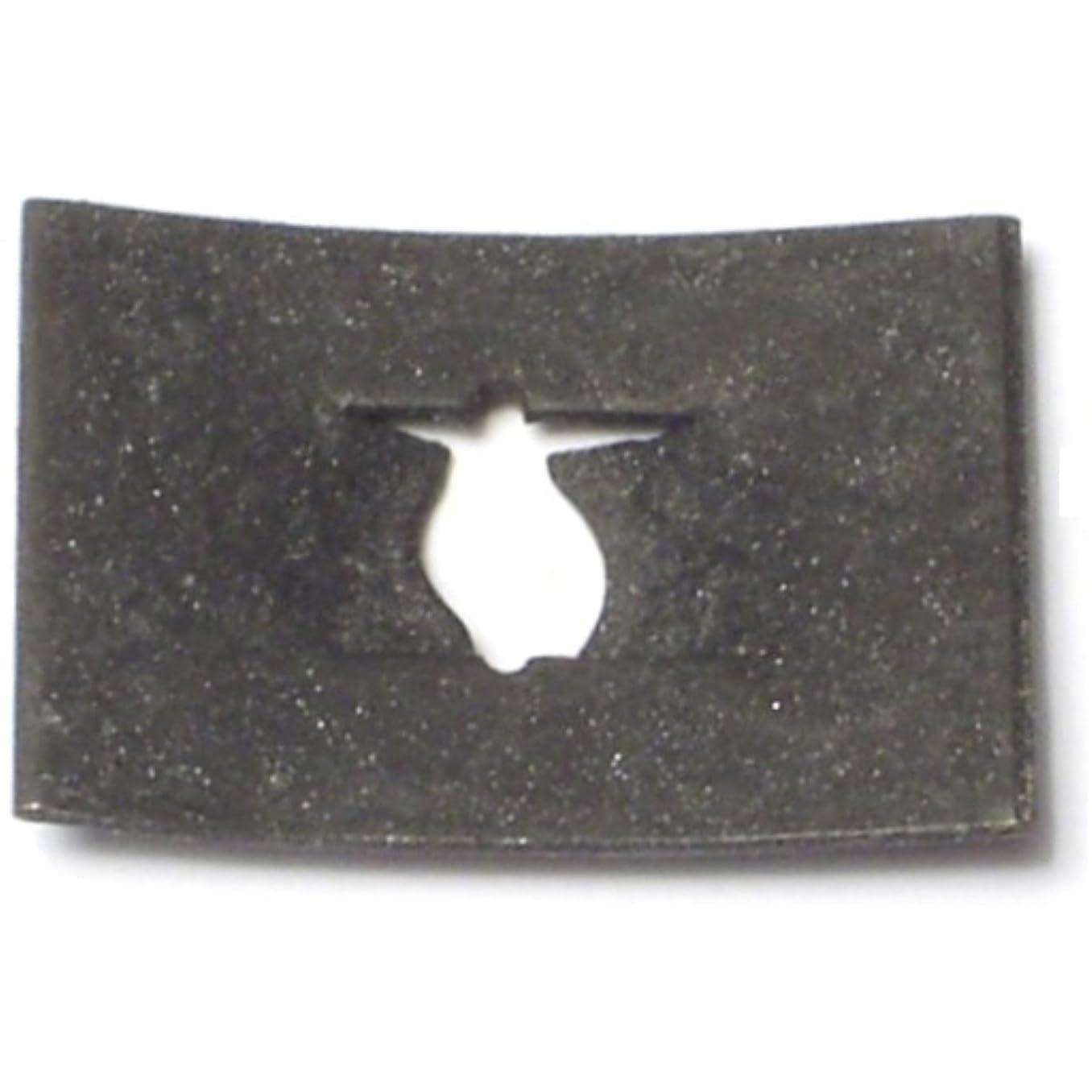 Hard-to-Find Fastener 014973324377 Flat Speed Nuts for Sheet Metal Screws, 10, Piece-40