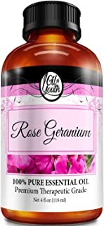 4oz Bulk Rose Geranium Essential Oil – Therapeutic Grade – Pure & Natural Rose Geranium Oil