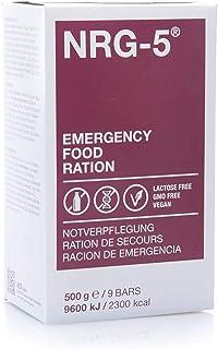 Ración de emergencia -, NRG-5, 1 caja de cartón con , 24 raciones de 500 G (9 bricolour)