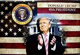 Donald Trump 45th President of the United States Fridge Magnet