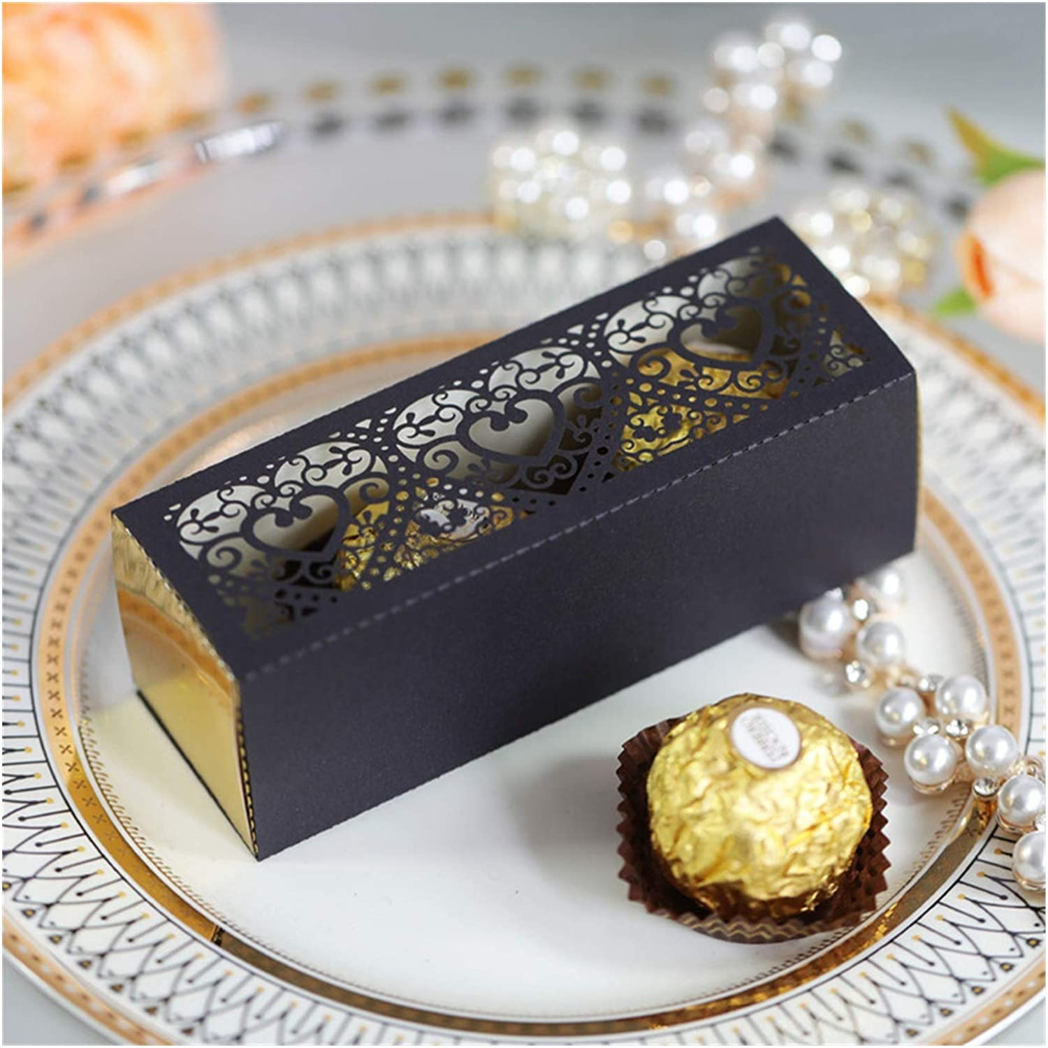 Love lowest price Heart Hollow Favors Gifts Genuine Candy Wedding for Party Box Cupca