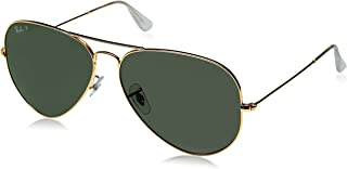 Ray-Ban RB3025 Aviator Polarized Sunglasses