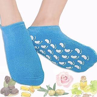 Moisturizing Gel Socks, Foot Peel Mask Heal Eczema Repairing and Softening Rough Dry Cracked Feet and Heels Skin Repair Tr...