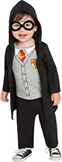 Harry Potter Lil Hogs Wizard Costume for Babies, with Robe, Pants, and Glasses