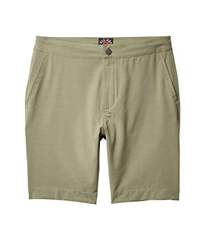 Faherty All Day Shorts (Olive) Men