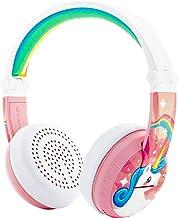 ONANOFF BuddyPhones Wave, Waterproof Wireless Bluetooth Volume-Limiting Kids Headphones, 18-Hour Battery Life, 4 Volume Se...